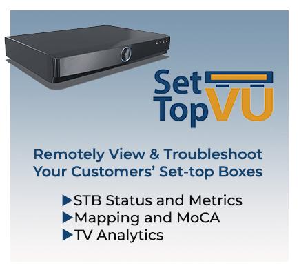 SetTop VU Set-Top Box Diagnostics and TV Analytics | ZCorum
