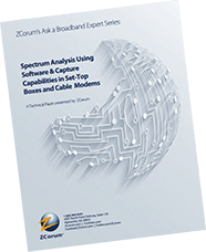 white paper cover remote spectrum analysis