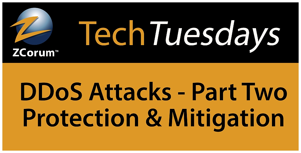 Tech Tuesday DDoS Attacks Part Two