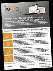 TruVizion Broadband Diagnostics Spanish Product Sheet Spanish Thumbnail