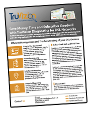 TruVizion DSL Product Sheet Thumbnail Updated