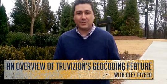 truvizion geocoding feature alex