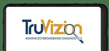 TruVizion Microsite Slider Tabbed Logo