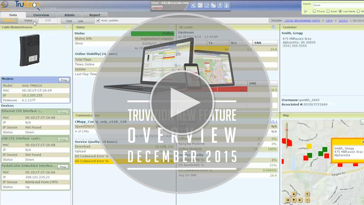truvizion new features december 2015 play button
