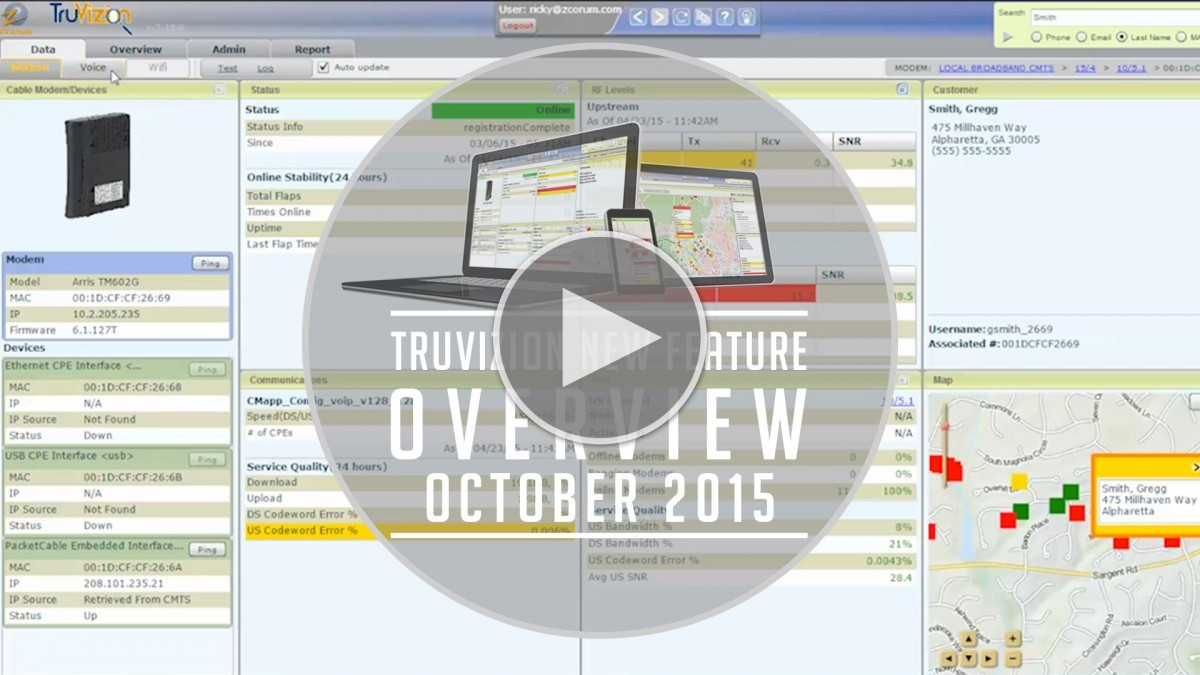 truvizoin feature updates oct 2015 play button