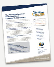 upstream analyzer product sheet slant