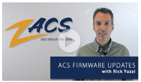 ZACS ACS Firmware Video Updated