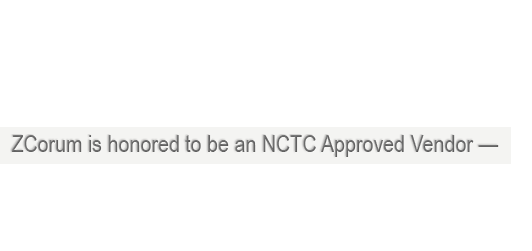 nctc approved vendor